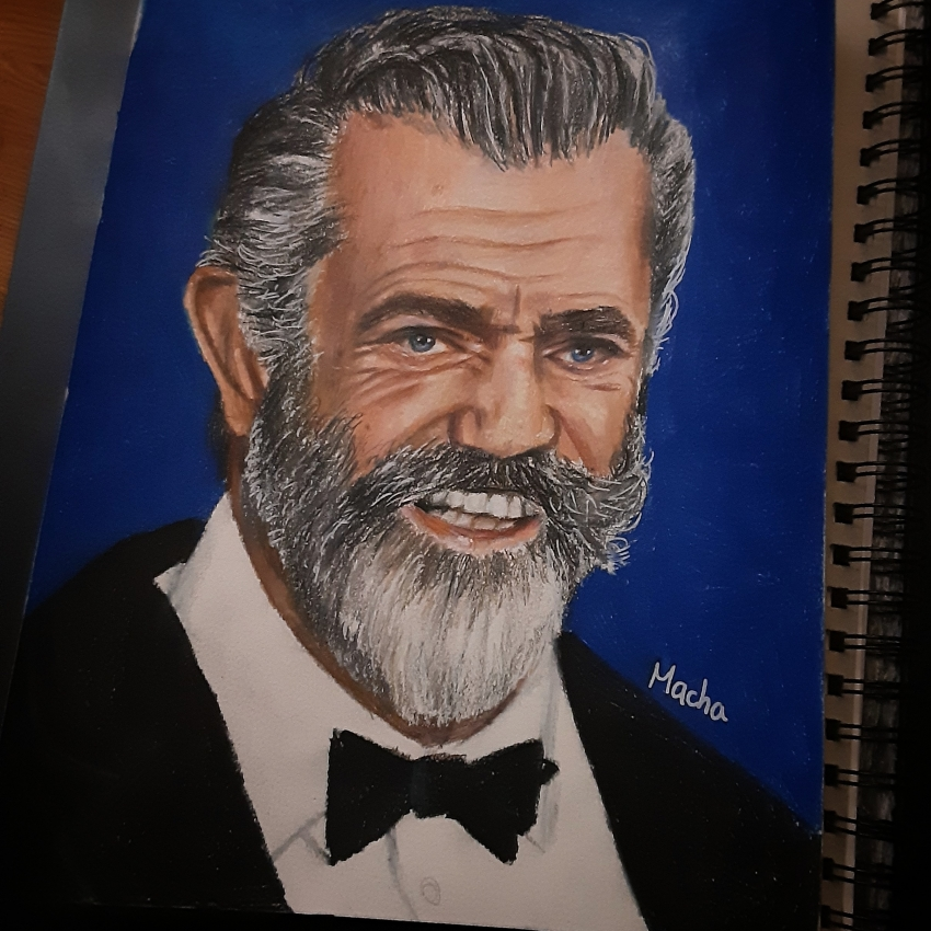 Mel Gibson by Macha